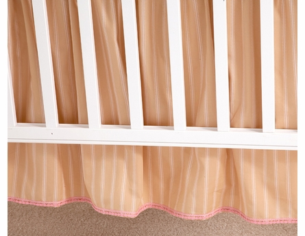 Sand Colette Crib Bedding - 3 Piece Set
