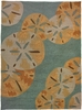Sand Dollars by the Sea Rug