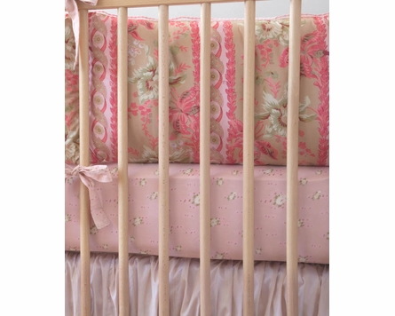 Sand Lucretia Crib Bedding - 3 Piece Set