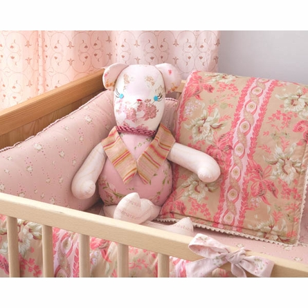 Sand Lucretia Crib Bedding Set