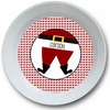 Santa's Belly Personalized Melamine Bowl