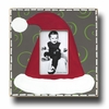 Santas Hat Flannel Picture Frame