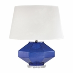 Sapphire Jewel Table Lamp