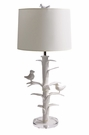 Sarah Lamp with Bird Finial