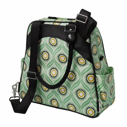 Sashay Satchel Diaper Bag - Captivating Corinth