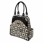 Sashay Satchel Diaper Bag - Beautiful Barcelona