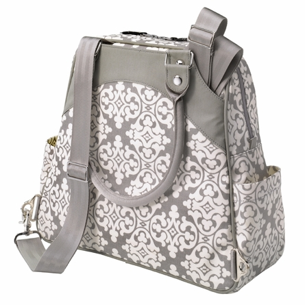 Sashay Satchel Diaper Bag - Breakfast in Berkshire