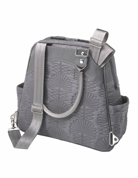 Sashay Satchel Diaper Bag - Champs-Elysees Stop