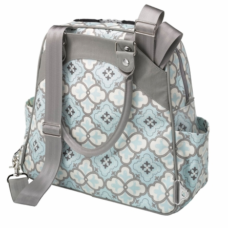Sashay Satchel Diaper Bag - Classically Crete