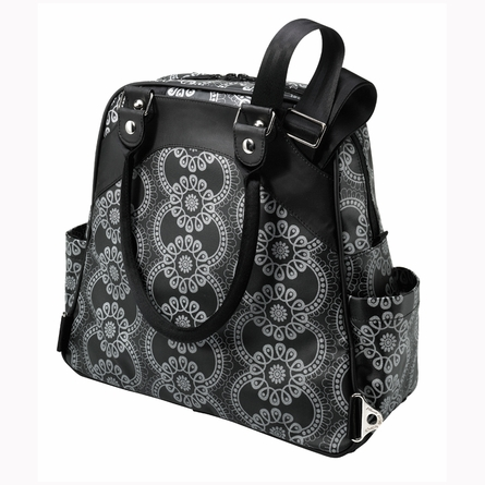 Sashay Satchel Diaper Bag - Evening in Innsbruck