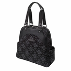 Sashay Satchel Diaper Bag - Paris Noir