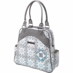 Sashay Satchel Diaper Bag - Sleepy Seychelles