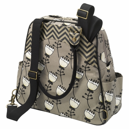 Sashay Satchel Diaper Bag - Timeless Tulips