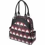 Sashay Satchel Diaper Bag - Tuscan Twilight