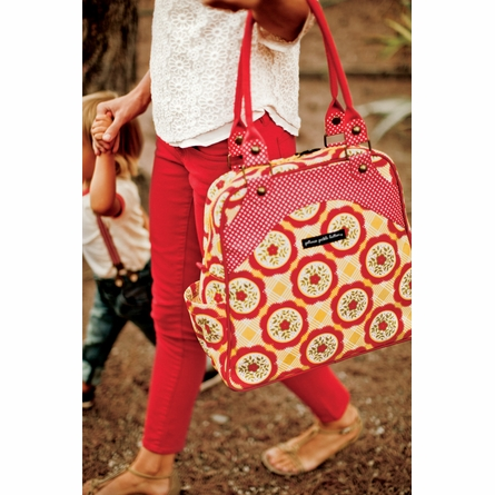 Sashay Satchel Diaper Bag - Twilight Tiger Lily