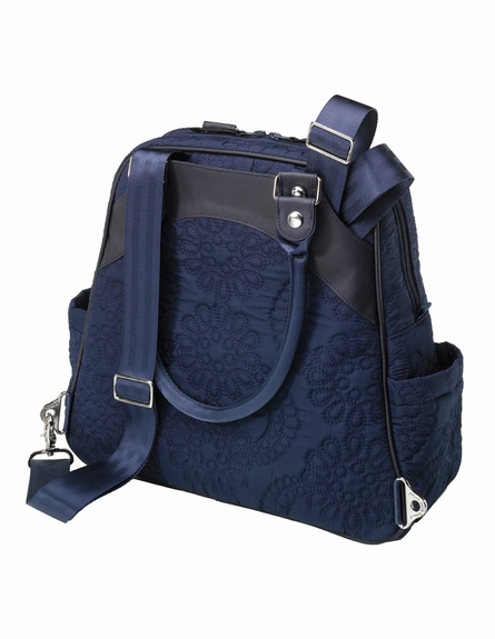 Sashay Satchel Diaper Bag - Waterloo Stop