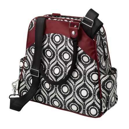 Sashay Satchel Diaper Bag - Evening in Islington