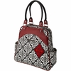 Sashay Satchel Diaper Bag - Frolicking in Fez