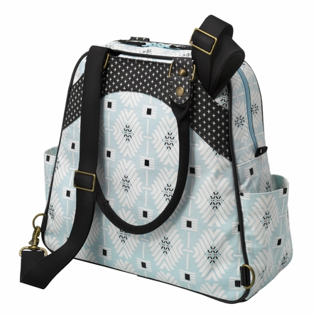 Sashay Satchel Diaper Bag - Southwest Skies