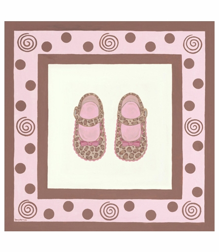 Sassy Glamour Shoes Canvas Reproduction