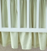 Cotton Sateen Crib Skirt