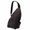 Satellite Sling Diaper Bag in Obsidian
