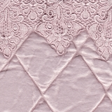 Satin Quilted with Lace Petal (18)