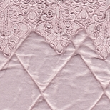 Satin Quilted Lace Fabric Options