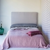 Velvet with Satin Quilted Coverlet