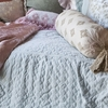 Satin Velvet Coverlet