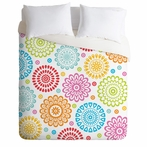 Sausalito Floral Lightweight Duvet Cover
