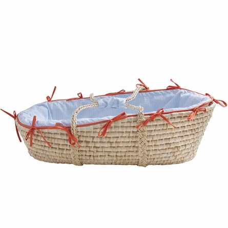 Sausalito Seersucker 3-Piece Crib Bedding Set