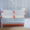 On Sale Sausalito Seersucker 3-Piece Crib Bedding Set