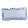 Savannah Linen Chambray French Blue Boudoir Pillow