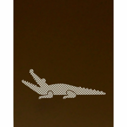 Scaled Alligator Art Print