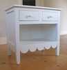 Scalloped Nightstand