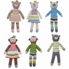 Schoolbook Rattles - Set of Six
