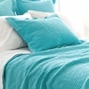 On Sale Scramble Aqua Matelasse Standard Sham