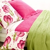 Scramble Key Lime Matelasse Coverlet