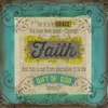 Scrapbook Faith Wall Art