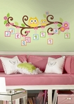 Scroll Tree Letter Branch Peel & Stick Wall Decals