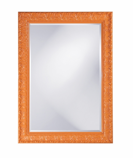 Scrolling Filigree Framed Mirror