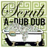 Scrub A-Dub Dub Canvas Wall Art