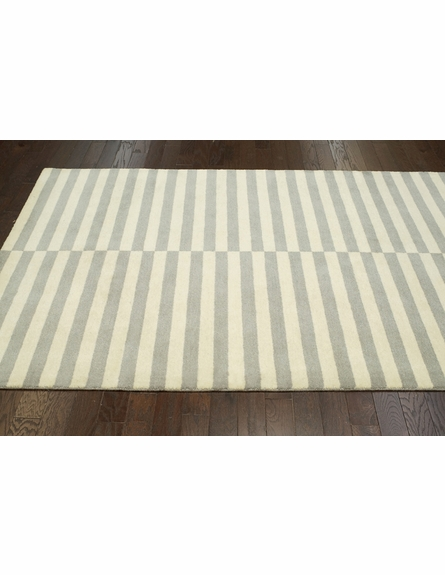 Scully Striped Rug in Dusk