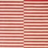 Scully Striped Rug in Red