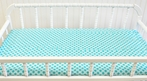 Sea Polka Dot Changing Pad Cover