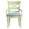 Sea Watch Arm Chair in Seaside Summer Fabric