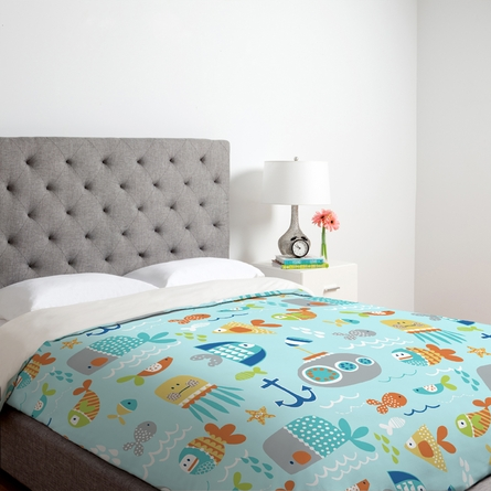 Sealife Duvet Cover