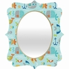 Sealife Quatrefoil Mirror
