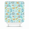 Sealife Shower Curtain